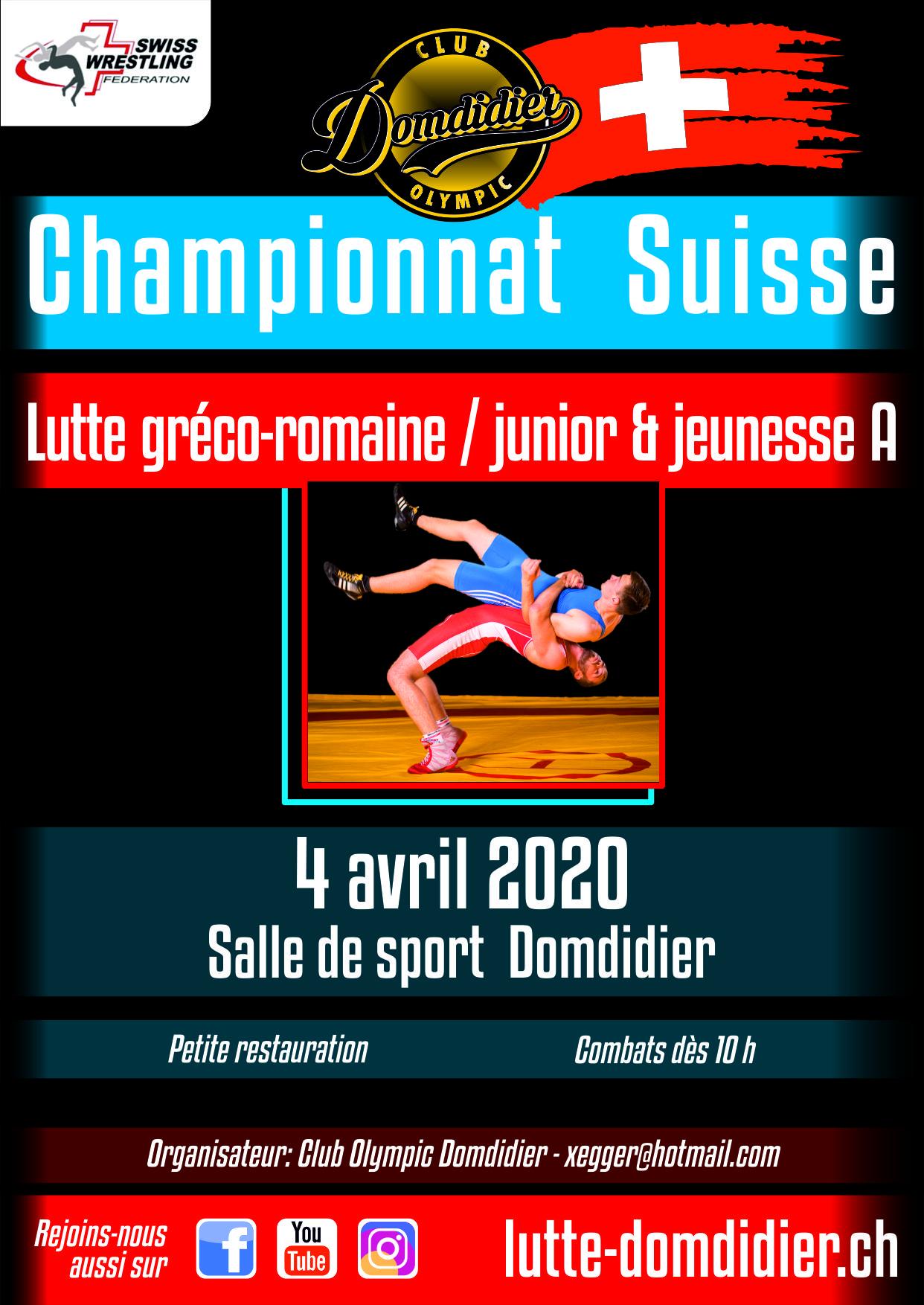 Championnat suisse 2020