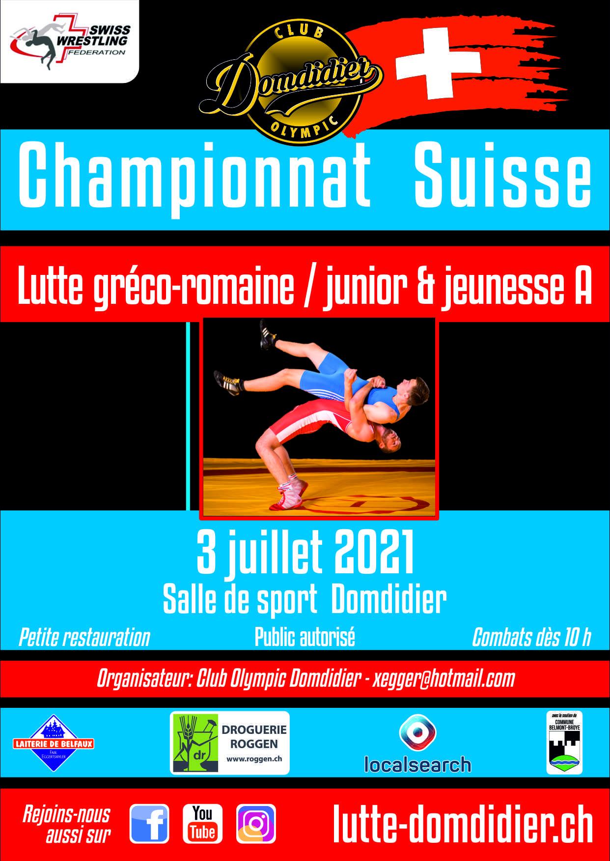 Championnat suisse 2021