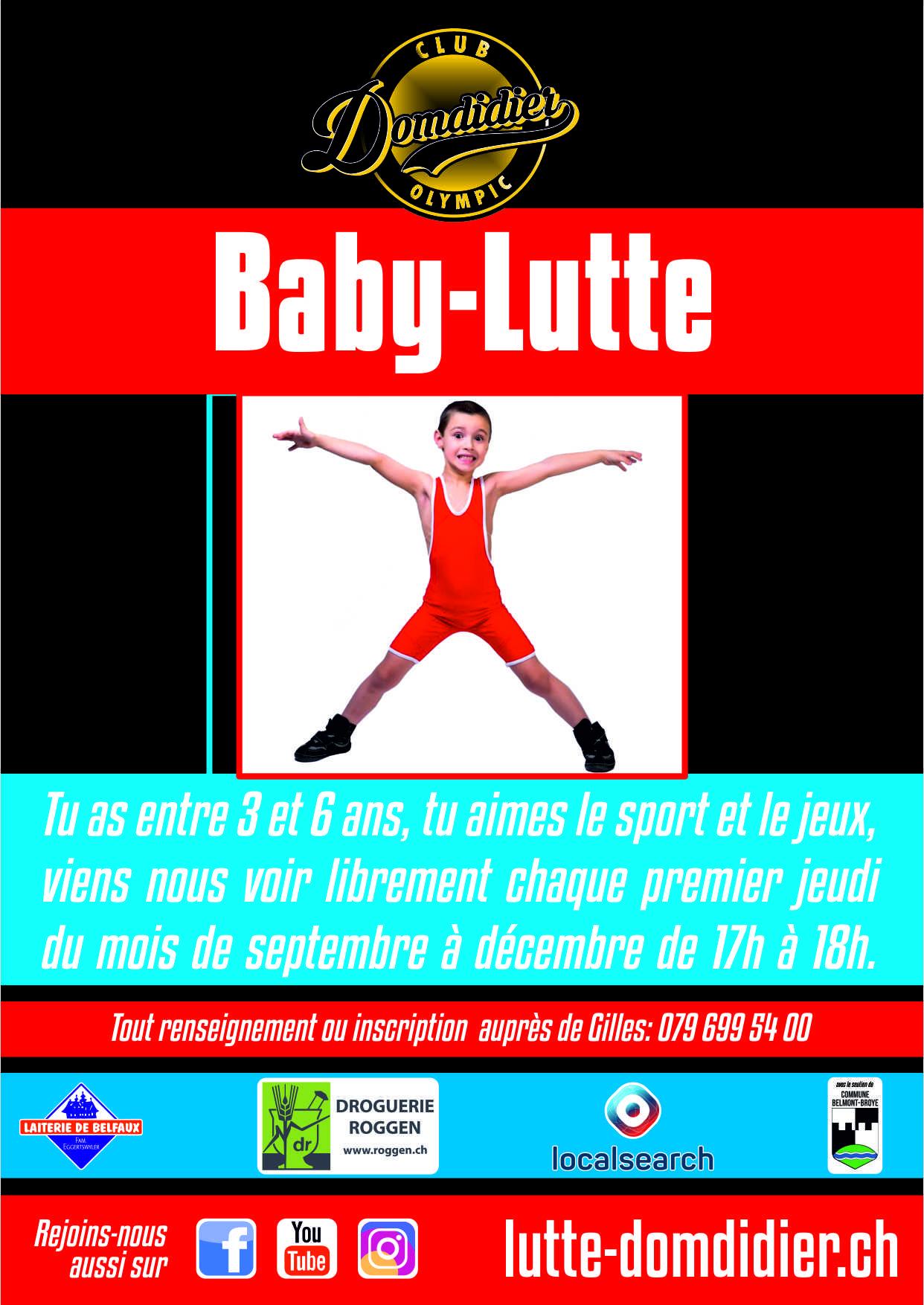 Baby lutte 2021